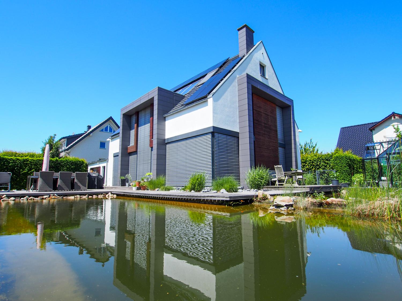 Design meets Architektur! Wenn Wohnen und Leben miteinander verschmelzen. Architektenhaus in Herford